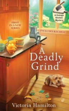 A Deadly Grind (A Vintage Kitchen Mystery, #1)