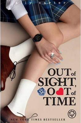 BOOK REVIEW: OUT OF SIGHT, OUT OF TIME BY ALLY CARTER