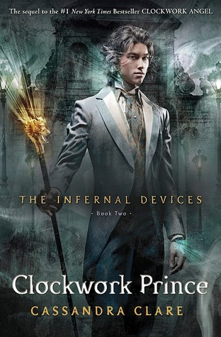 3 Stars: Clockwork Prince by Cassandra Clare Audiobook