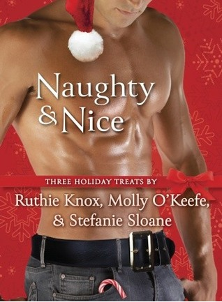 Shirtless guy with a tanned, waxed torso, wearing jeans and a Santa hat. Has a candy cane in his pocket, though he may also be happy to see you.