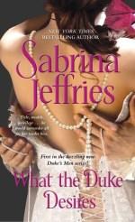 Book Review: Sabrina Jeffries' What the Duke Desires