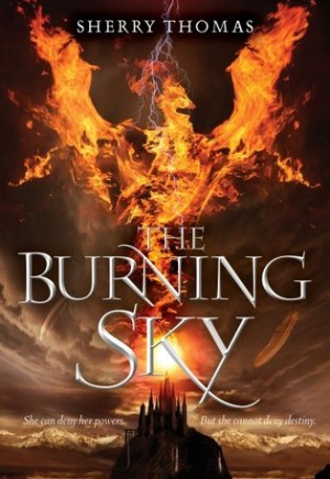 #Printcess review of The Burning Sky by Sherry Thomas