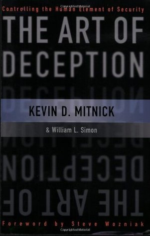 Book cover - The Art of Deception: Controlling the Human Element of Security by Kevin D. Mitnick