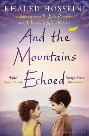 And the mountains echoed Boek omslag
