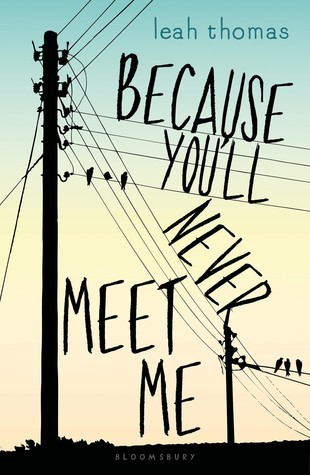 Because You'll Never Meet Me by Leah Thomas Review: Electricity Boy & German Daredevil