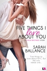 Five Things I Love About You (Entangled Lovestruck)