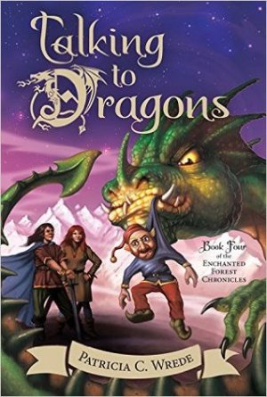 Talking to Dragons by Patirica C Wrede | Featured Book of the Day | wearewordnerds.com