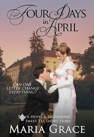 #Printcess review of Four Days in April by Maria Grace