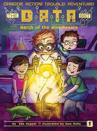 March of the Mini Beasts (The DATA Set Book 1) book cover - for March of the Mini Beasts Review