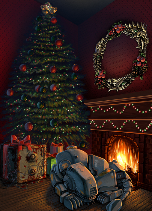 Fallout 4 Rumours Bethesda Christmas Card Dampens Release