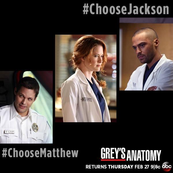 Grey's Anatomy Season 10: Will April Pick Matthew or ...