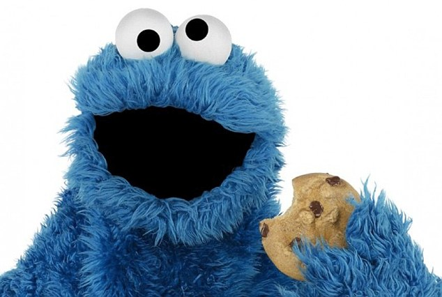Image result for the cookie monster
