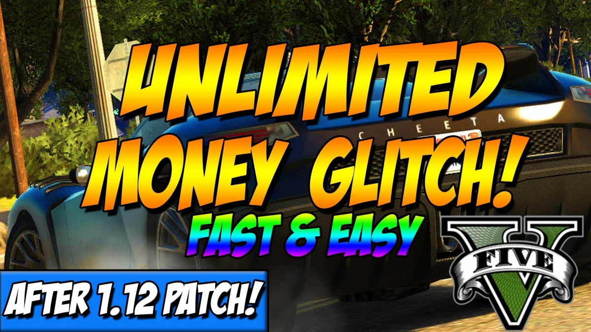 Gta 5 Fastest Unlimited Money Glitch After 1 12 Patch In