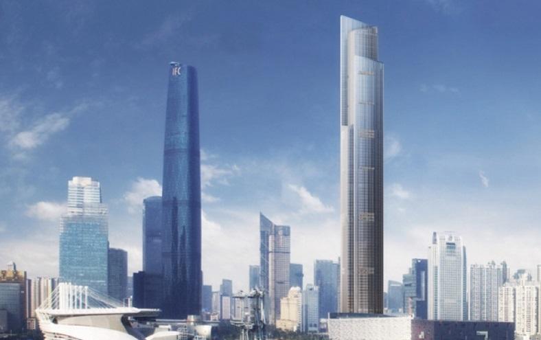 Worlds Fastest Lifts Guangzhou CTF Financial Centre