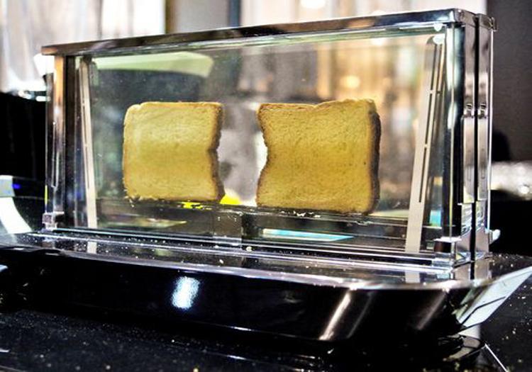 Bugatti Launches Smart Toaster That Cooks Steak Using