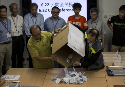 China Worried as Hong Kong Braces for Mass Pro-Democracy ...