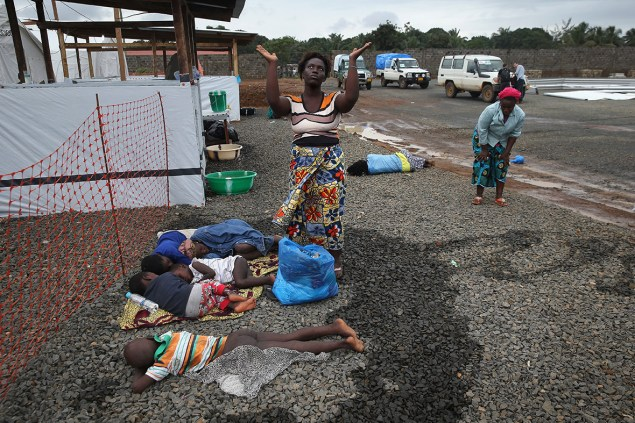 > Aug 22 - Ebola in Liberia Photos: West Point Slum Sealed to Prevent Spread of Disease - Photo posted in BX Daily Bugle - news and headlines | Sign in and leave a comment below!