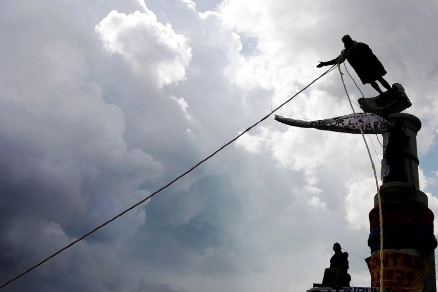 columbus statue venezuela