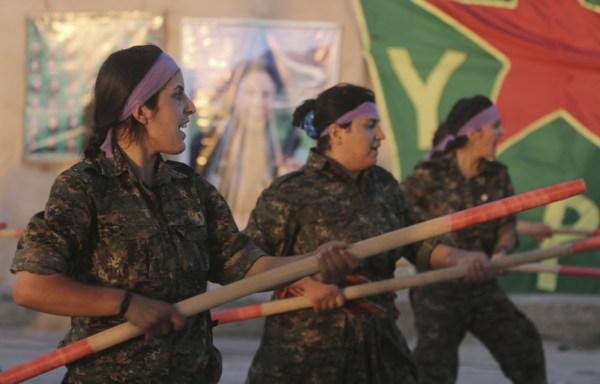 Syria: Kurdish Women Protection Units Wage Battle Against ...