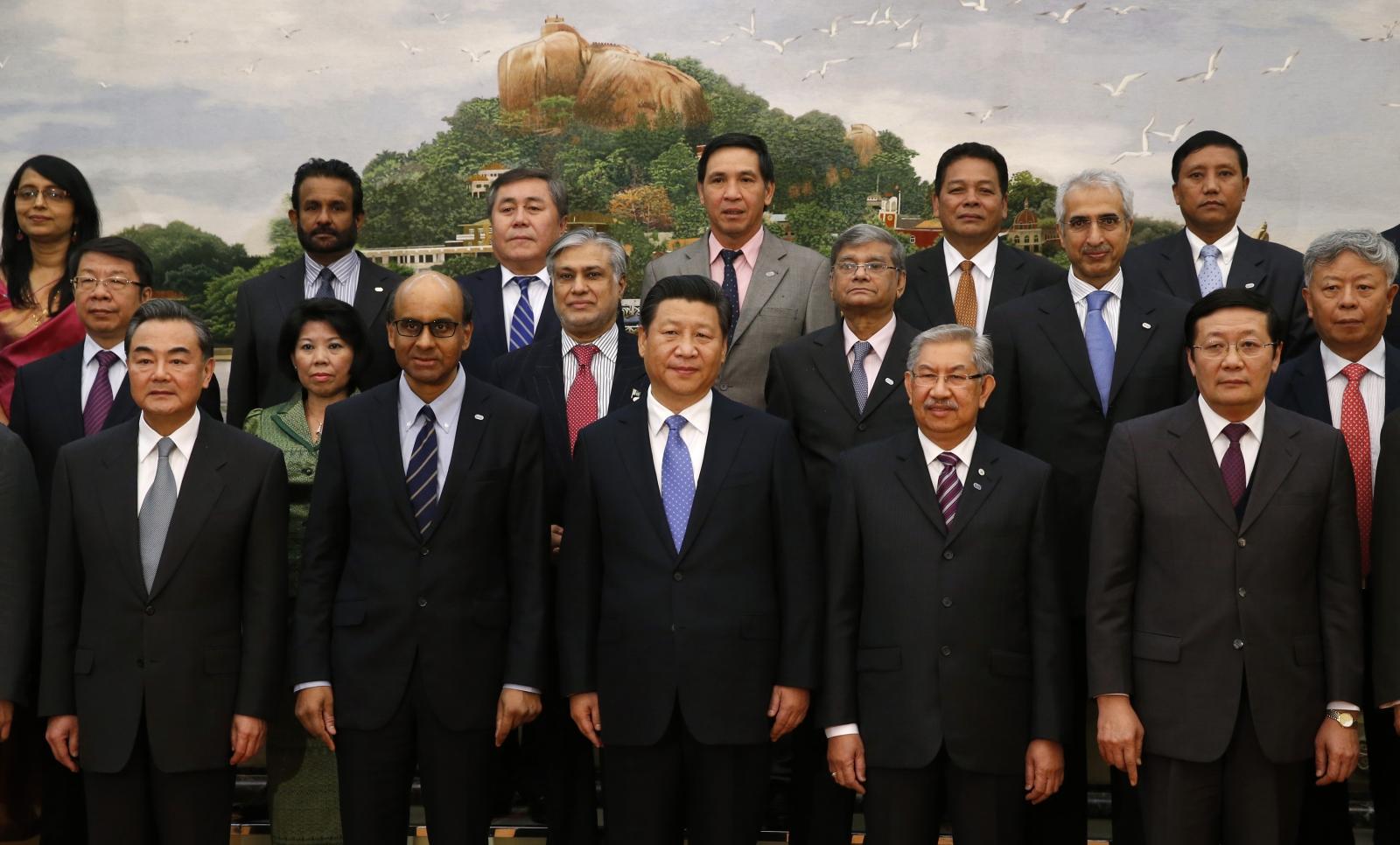 AIIB signing ceremony