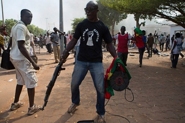 Burkina Faso: President Blaise Compaore Refuses to Resign ...