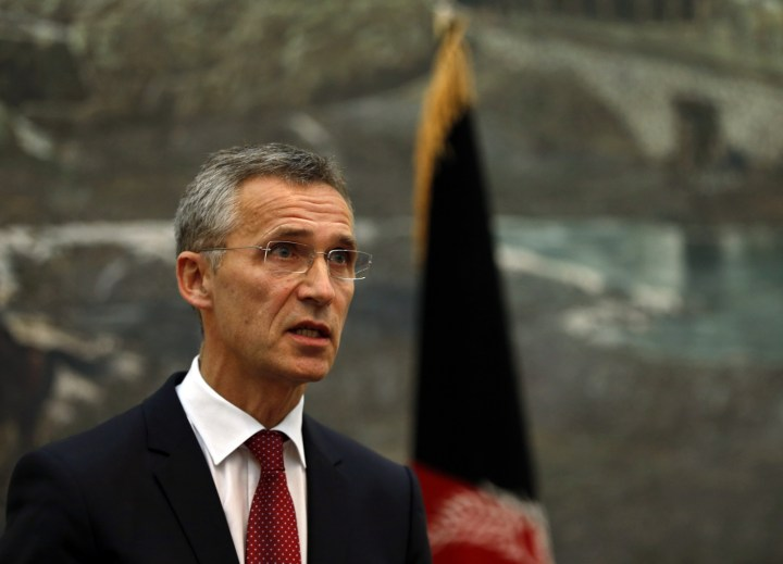 Nato Chief Sees Serious Russian Military Buildup in Ukraine