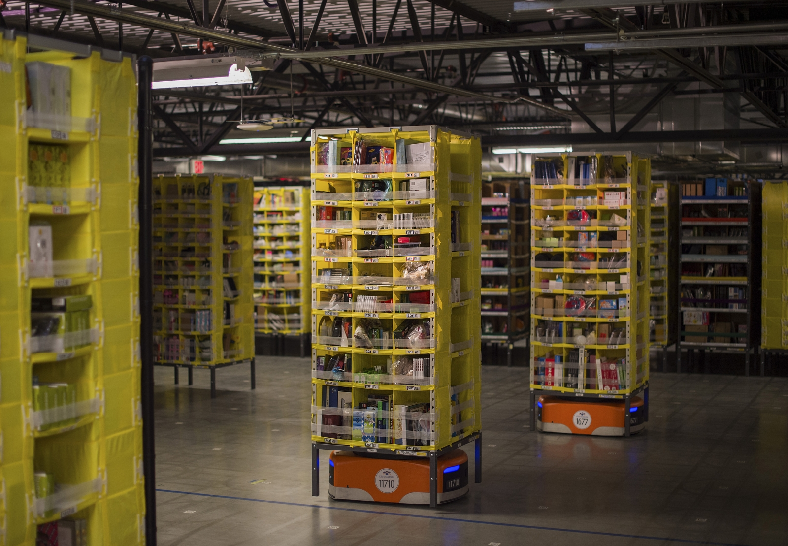 Amazon warehouse robot