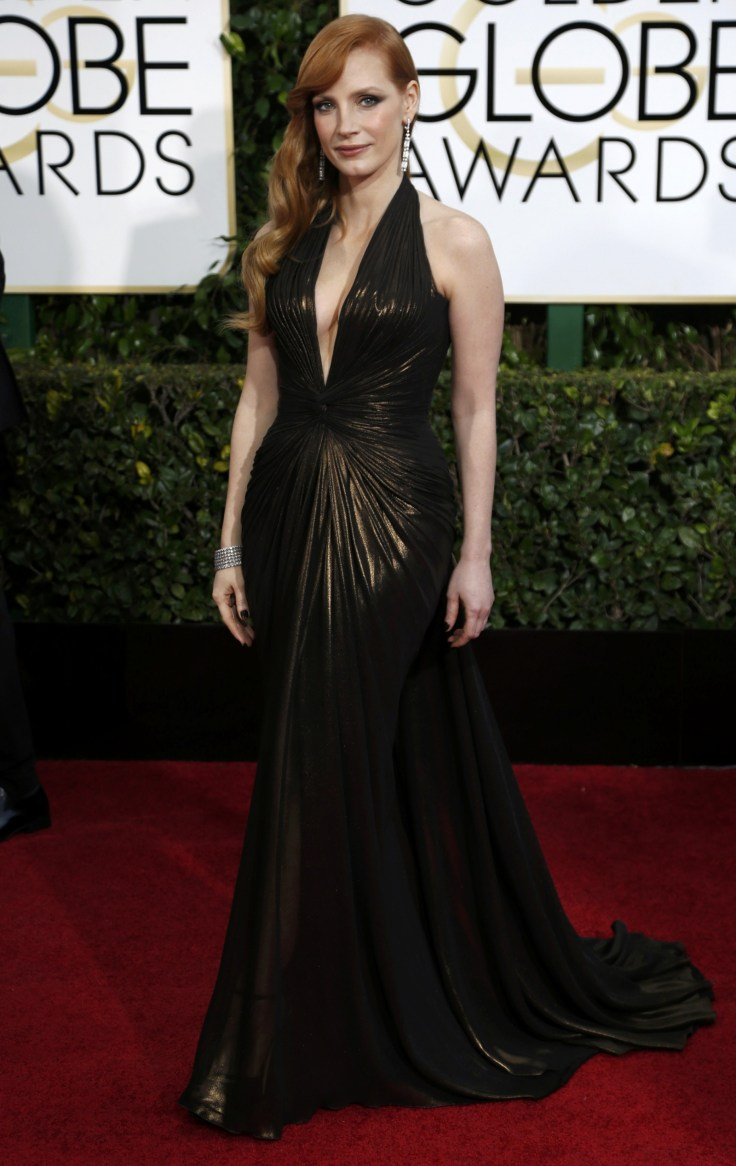 Golden Globes 2015 red carpet fashion: Jessica Chastain ...