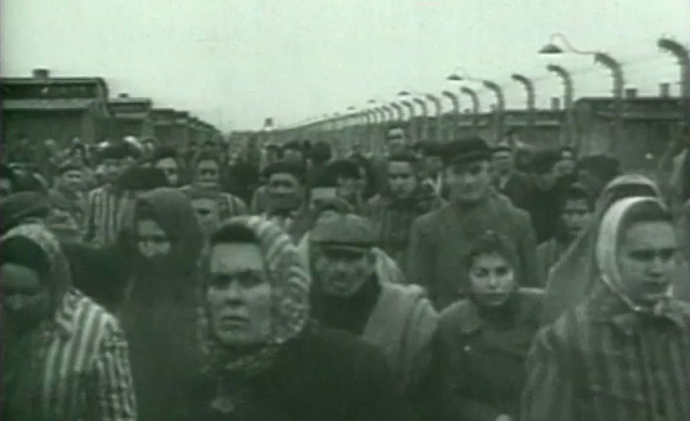 Holocaust Memorial Day Archive Footage Shows
