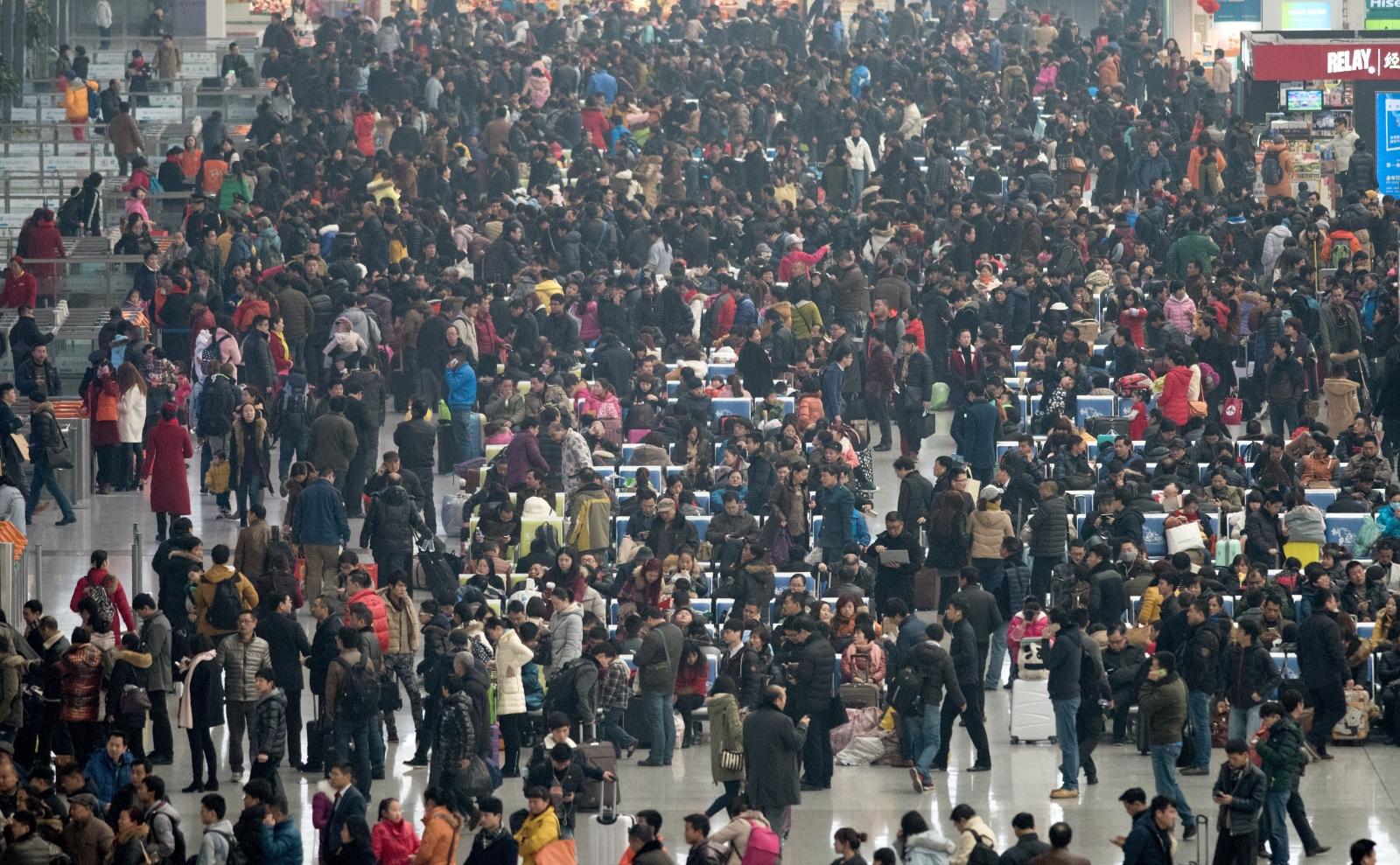 Chinese New Year Chunyun The Largest Annual Human