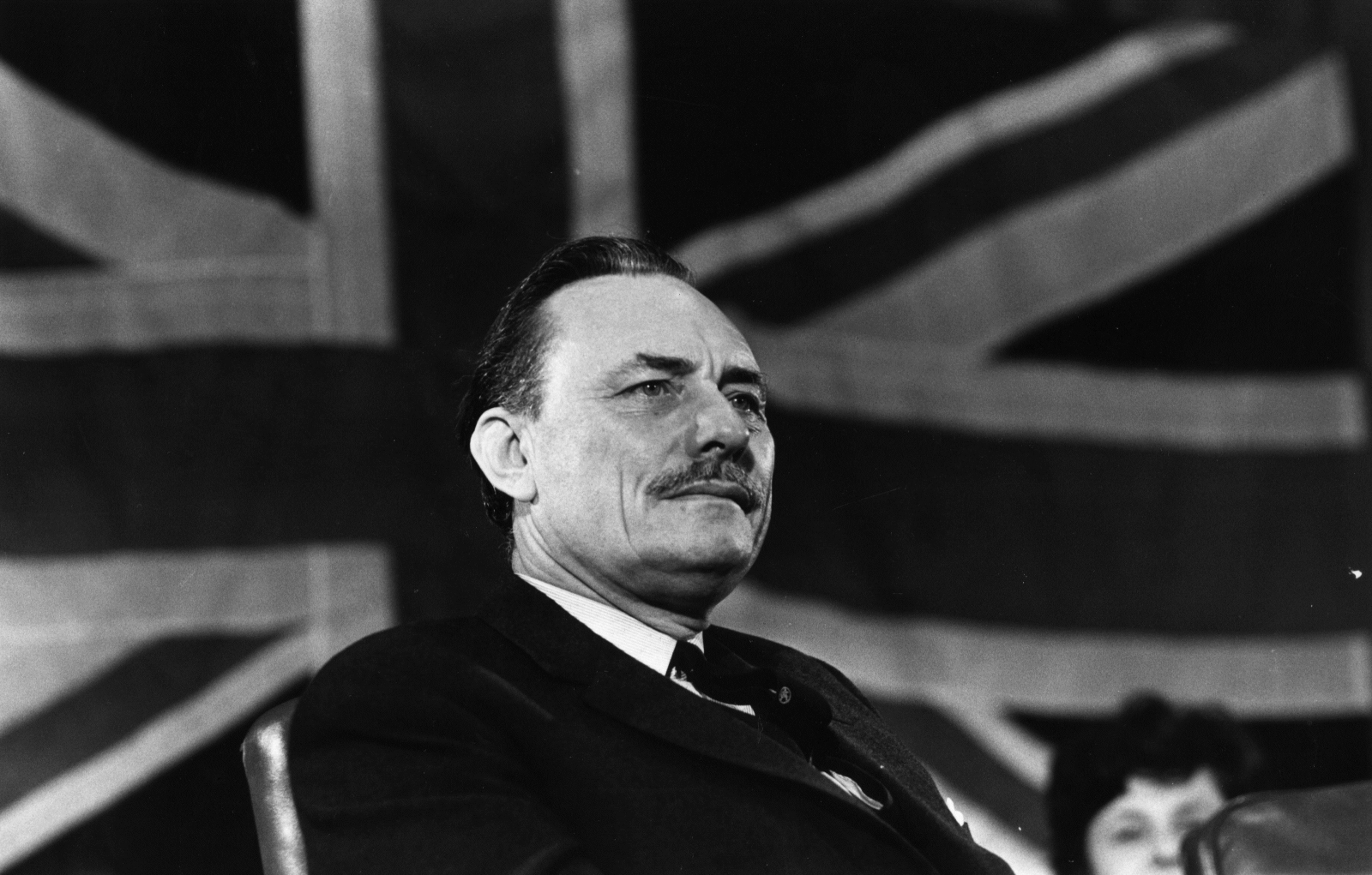 ((Enoch Powell at a 1969 meeting in Islington while he was a Conservative MP © Getty)