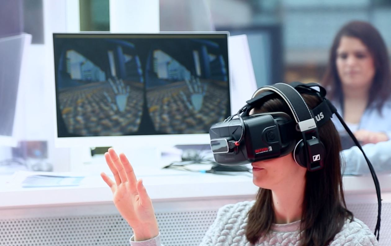 London Westfield And Inition Use Oculus Rift Virtual