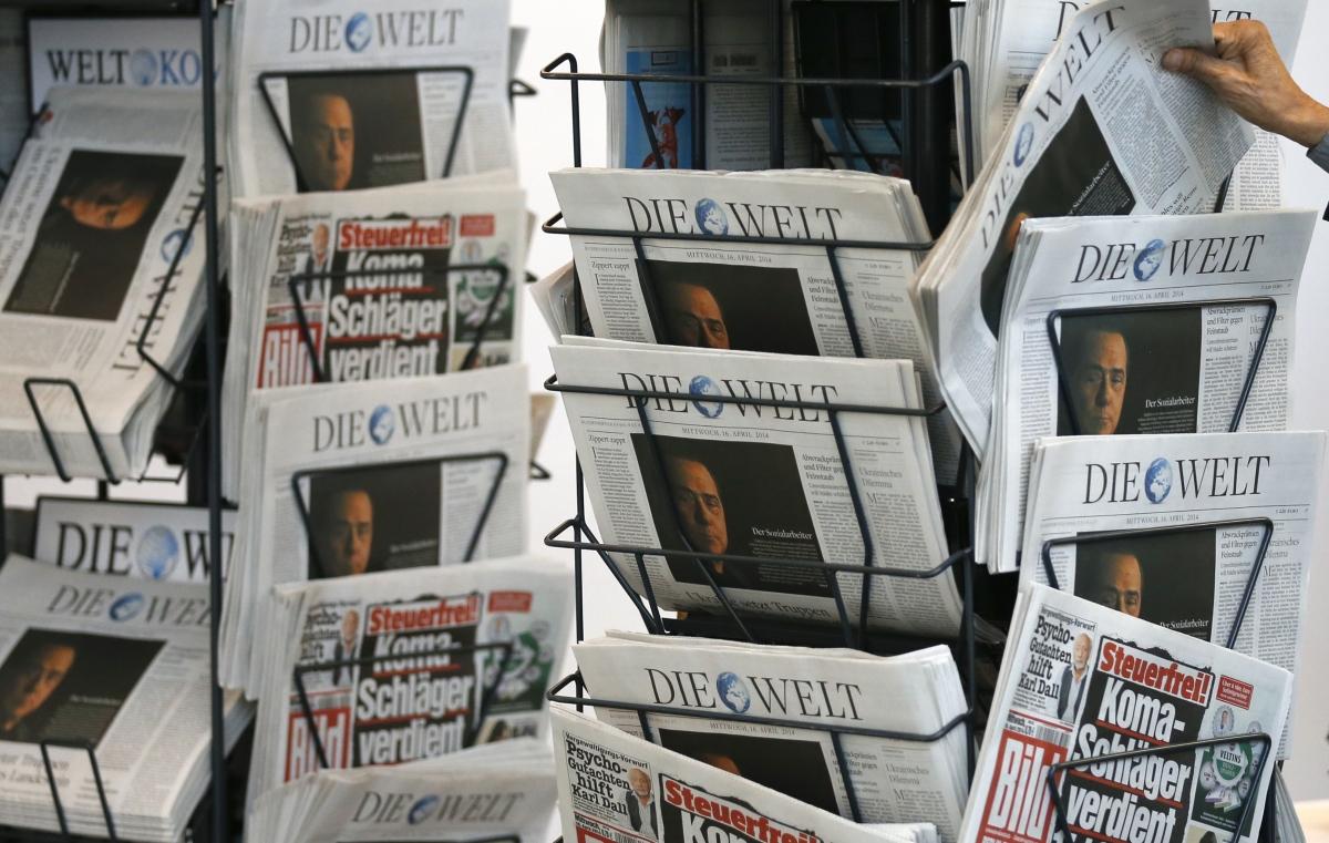 News stand, Berlin
