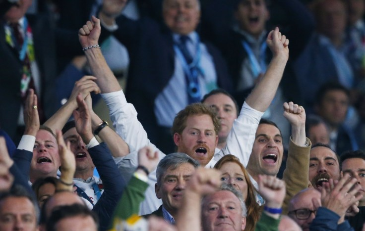 Prince Harry joined by friends and Kate Middleton's family ...