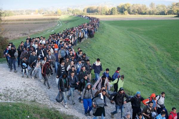 EU migrant crisis: Serbia, Croatia and Slovenia struggle ...