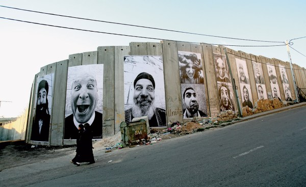 JR: Mysterious French street artist and photographer's ...