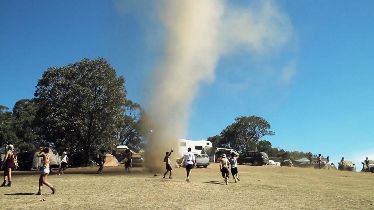 Australia Tornado Blows Up A Storm At Earthcore Music Festival