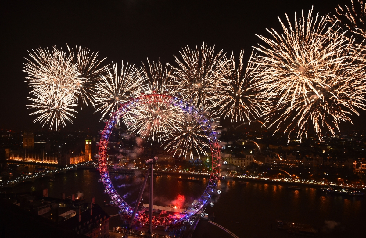 New Year s Eve fireworks 2017  Where to watch for free New year s eve London