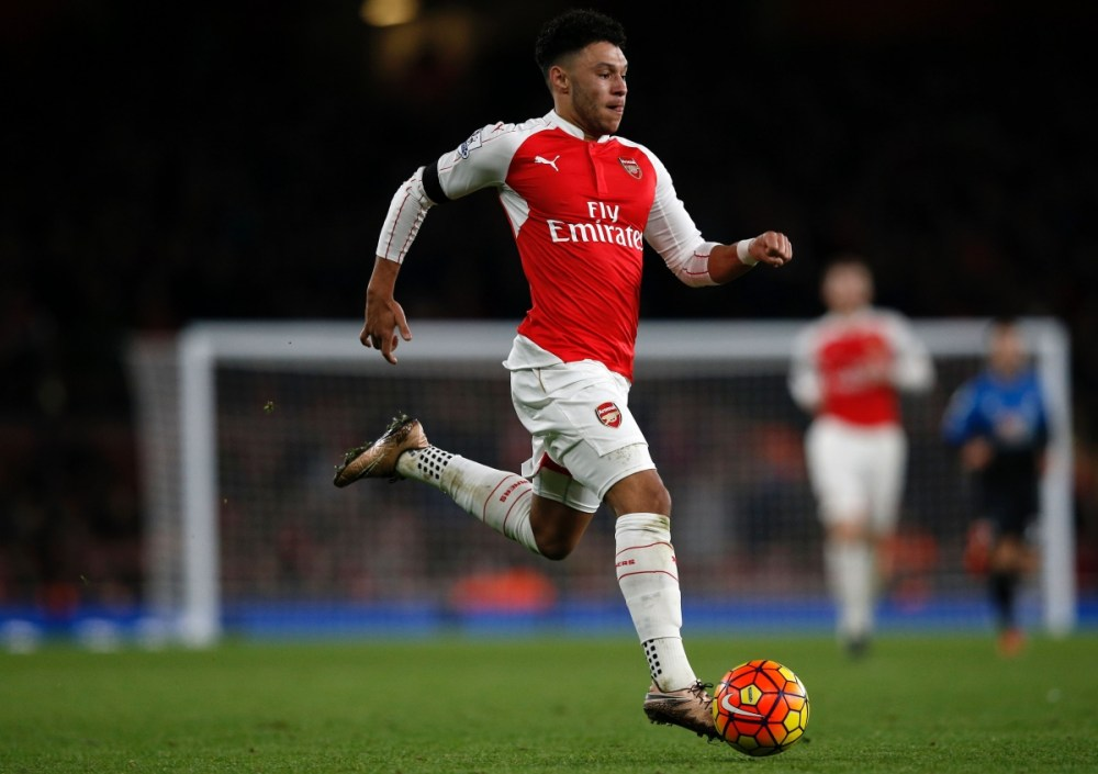 Image result for Alex oxlade Chamberlain saying bye