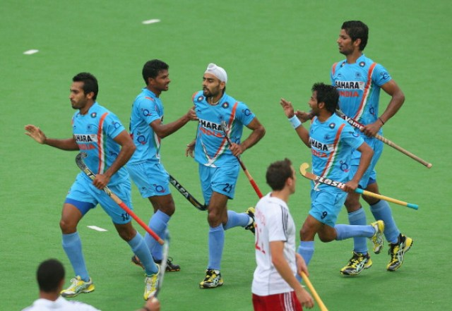 equipo de hockey de la India