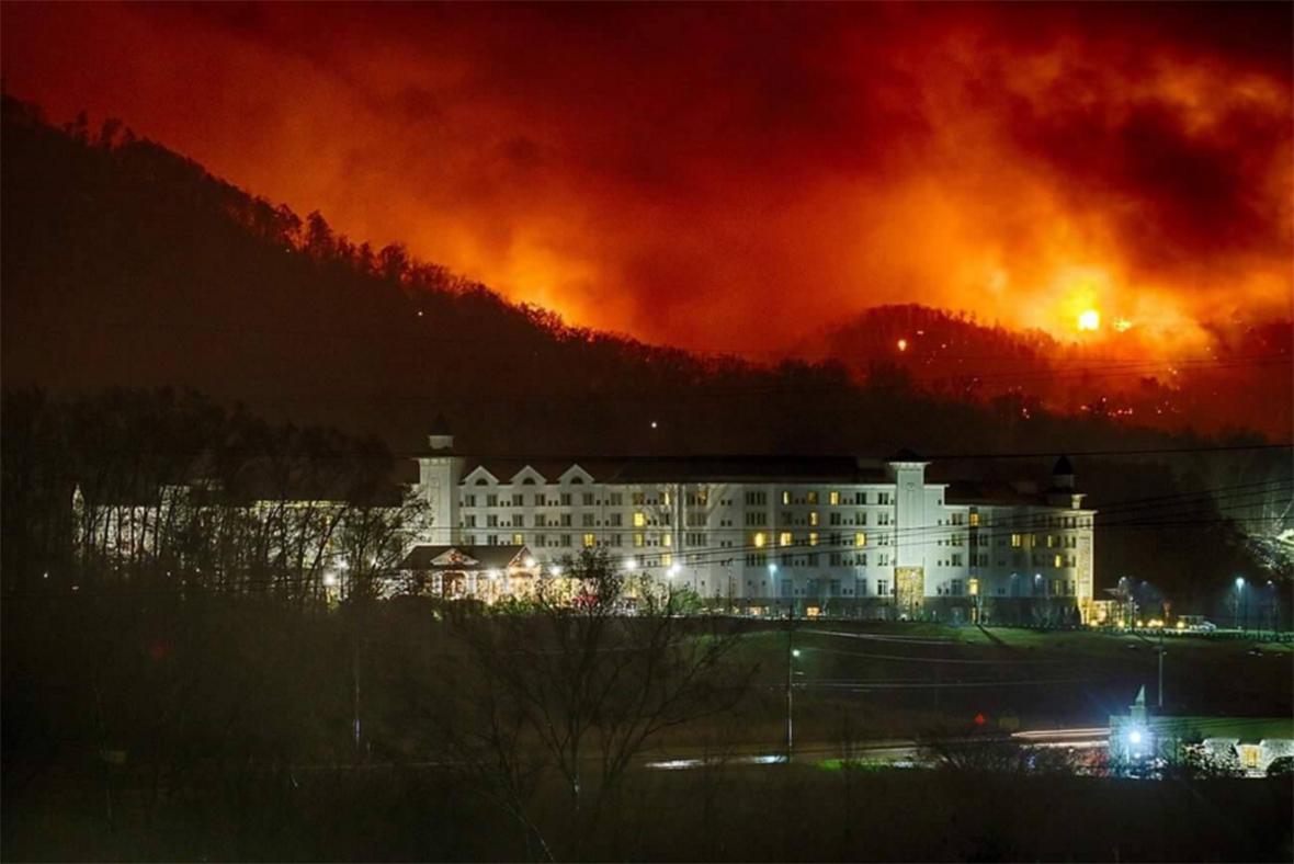 November 2016 Fire Gatlinburg