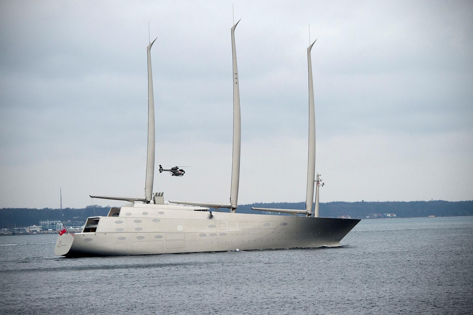 Russian Billionaires Futuristic 425m Superyacht Seized