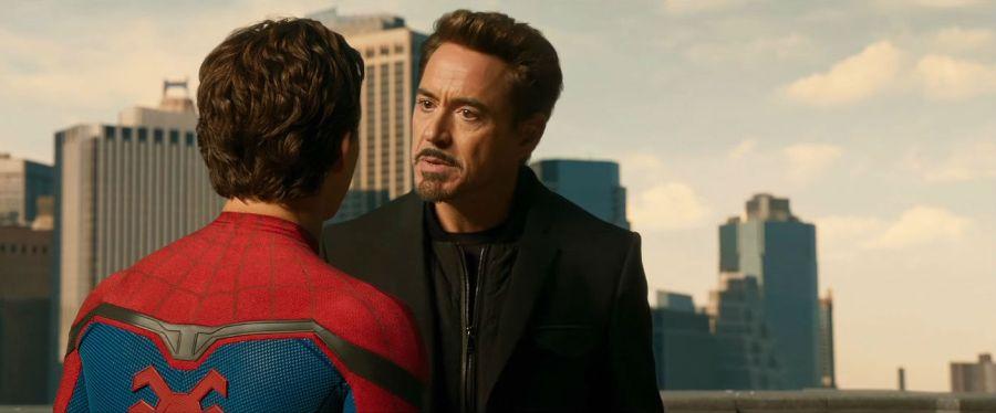 Tony Stark in Spider-Man: Homecoming