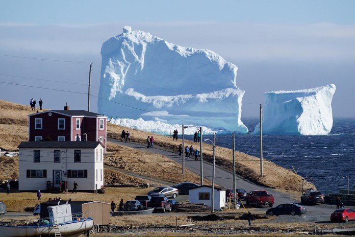 South Shore iceberg