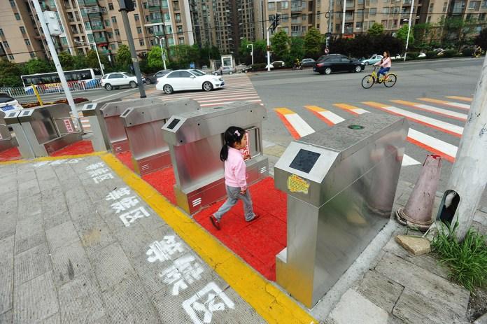 China traffic lights