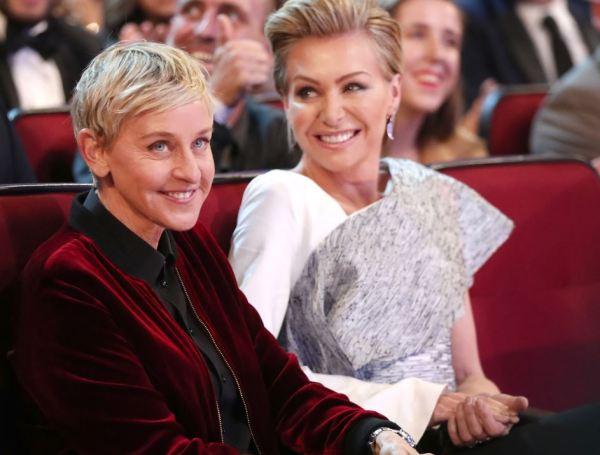 Ellen DeGeneres opens up about wife Portia de Rossi's ...