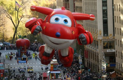 Photos: The balloons at New York's Macy's Thanksgiving Day ...