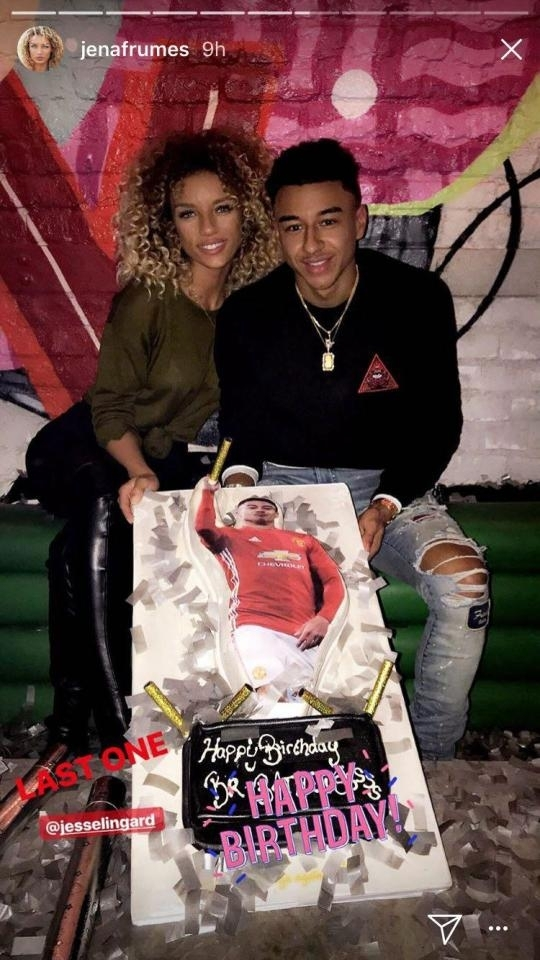 Who Is Jena Frumes Manchester United Star Jesse Lingard