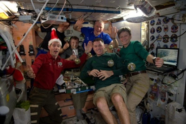 Christmas in space This is how ISS astronauts have been