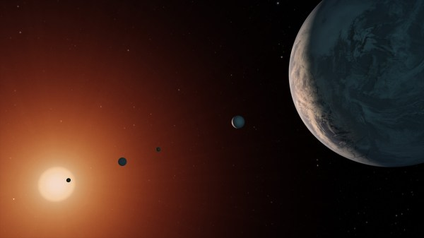 Can Trappist1 host alien life Two planets of the distant
